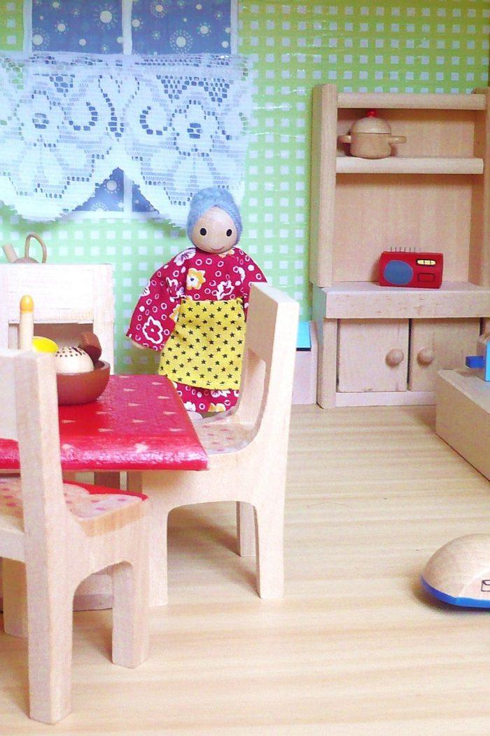 Frühstück ist fertig! – Puppenhaus Teil 7