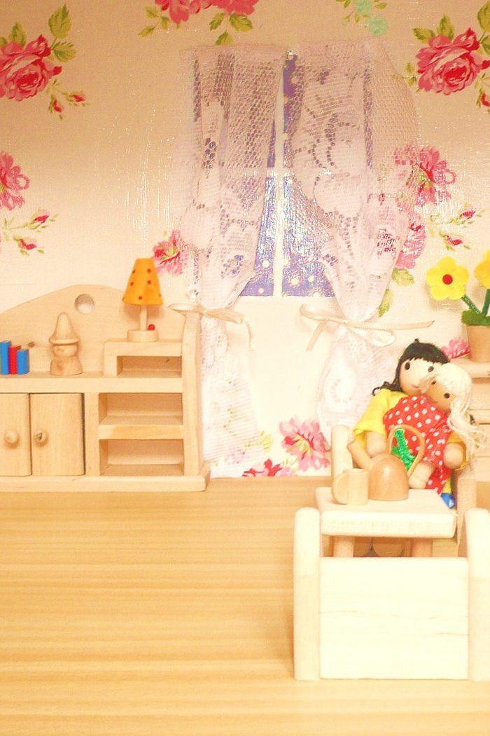 Wohnzimmereinblicke… – Puppenhaus Teil 4