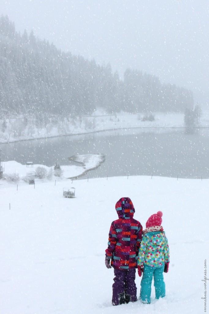 Schneegestöber, Erdbeerknödel und jede Menge Kinderglück… – Unser Wochenende in den Bergen Tirols