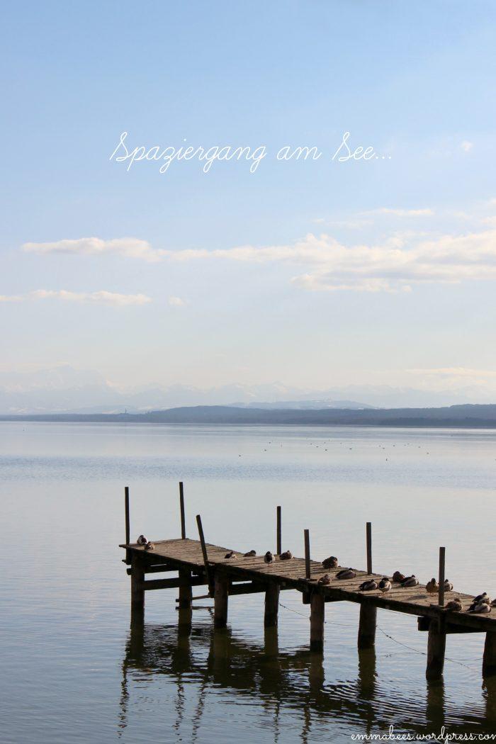 Wenn ich den See seh, brauch ich kein Meer mehr…