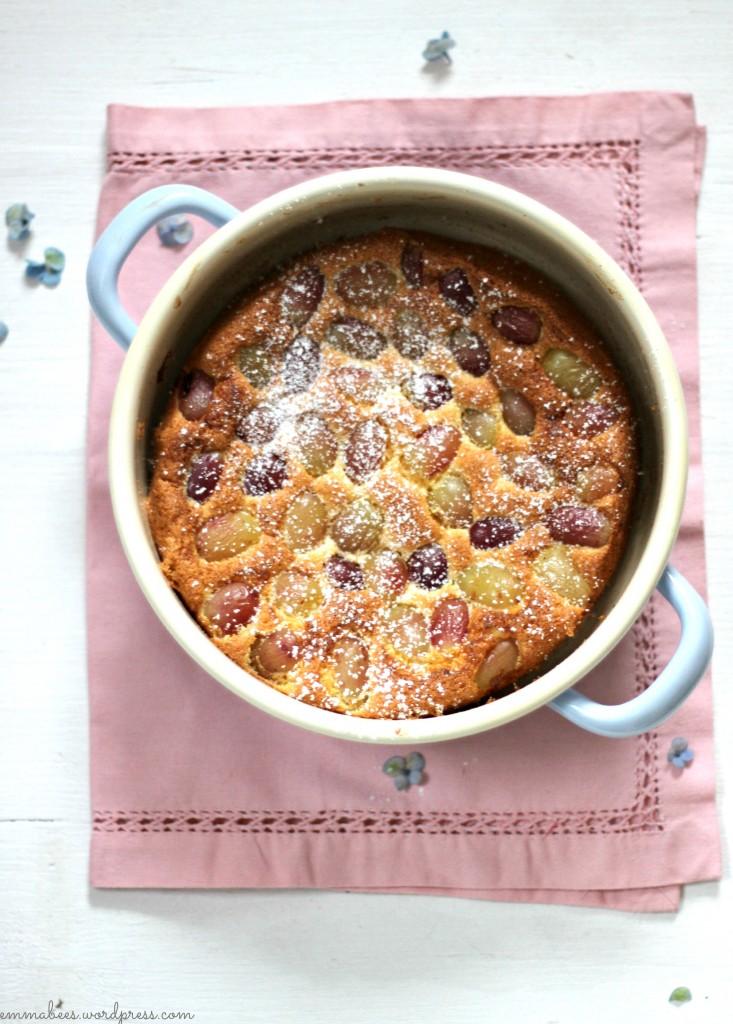 Schneller Mandelkuchen mit Weintrauben…