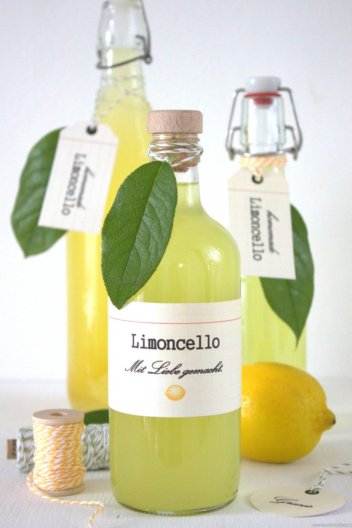 {Rezept} Perfekt für den Sommer: Limoncello selber machen