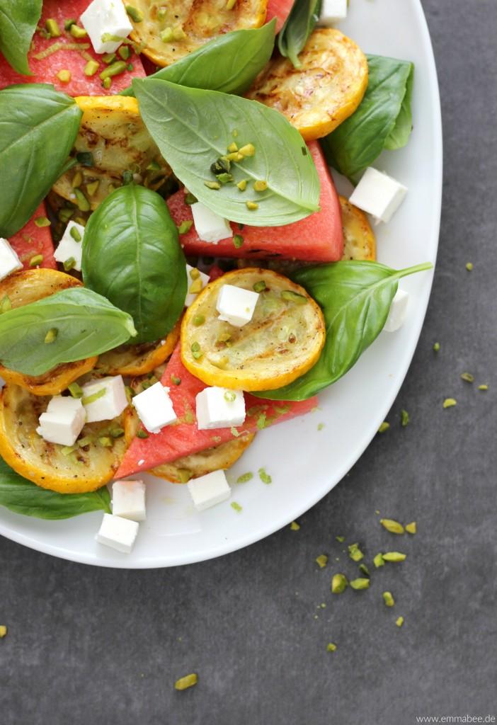 EmmaBee Rezept Wassermelonen-Feta-Salat