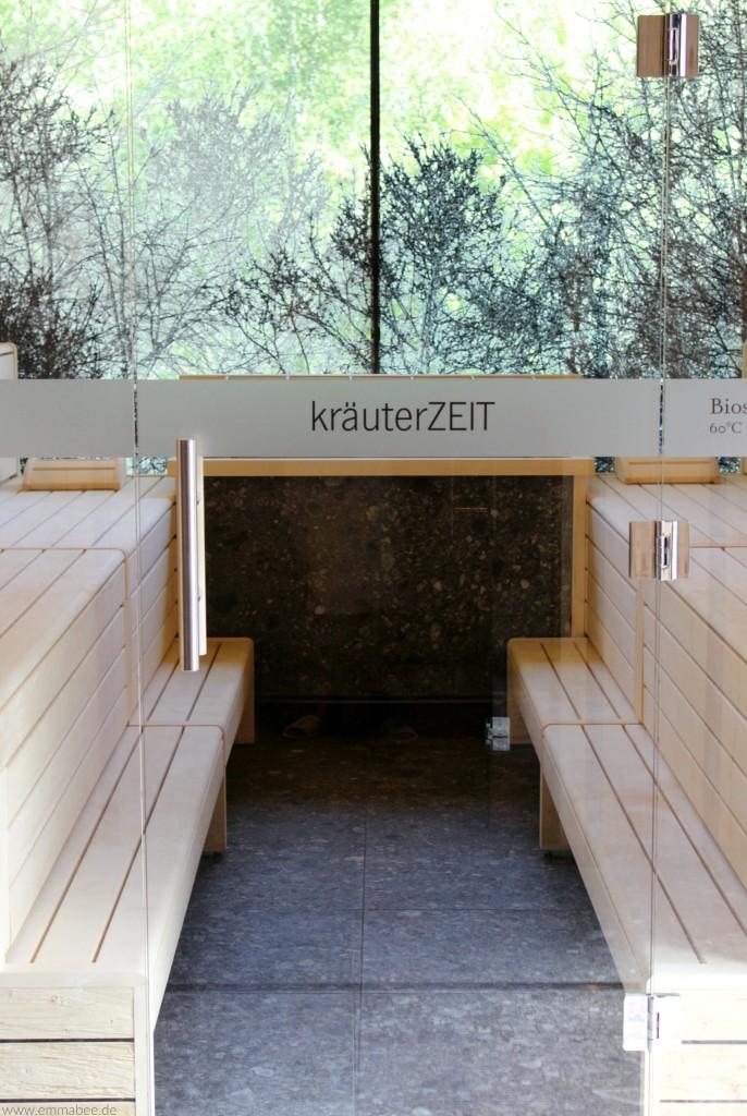 EmmaBee Unterwegs Forsthofgut waldSPA