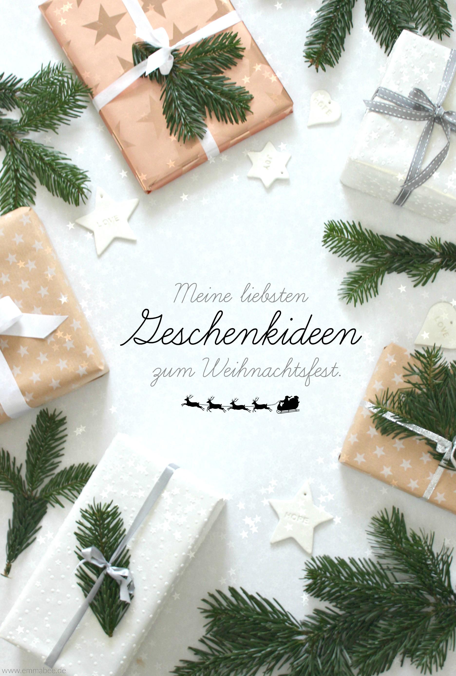 Leben} Ein paar meiner liebsten Geschenkideen fürs Weihnachtsfest ...