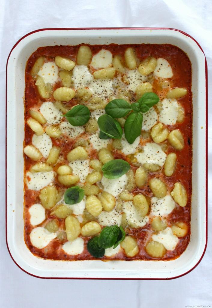EmmaBee Rezept Gnocchi-Auflauf