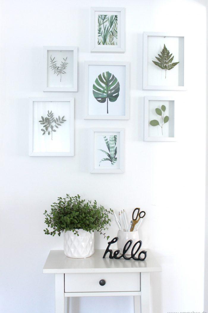 {DIY} Floating-Frames für Deine gepressten Blumen und Blätter Enthält unbezahlte Werbung