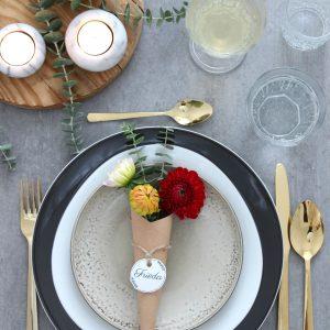 EmmaBee DIY herbstliche Tischdeko