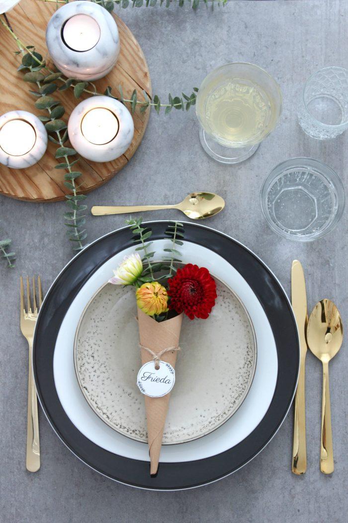 {DIY} 3 bezaubernde Ideen für eine schnelle Herbst-Tischdekoration Enthält Werbung