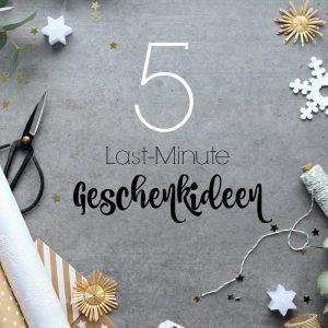 EmmaBee Last-Minute-Geschenkideen