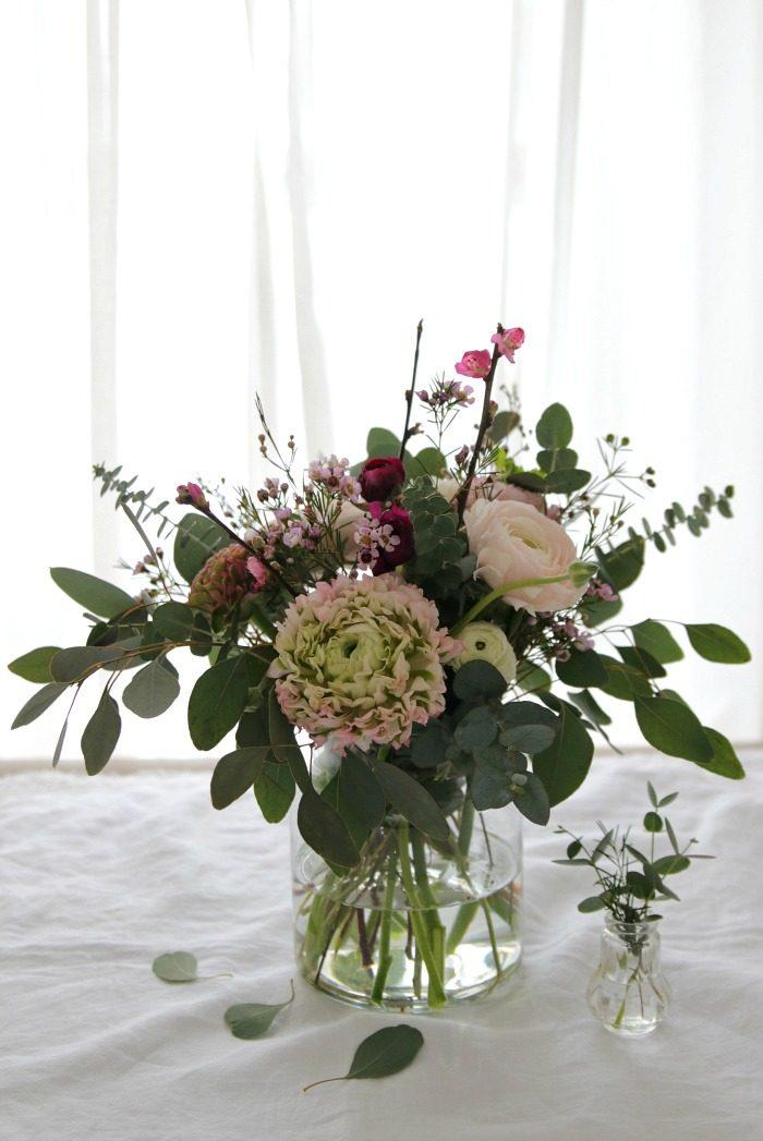 {DIY} Ein Ich-bin-wieder-da-Blumenstrauss zum einfachen Nachmachen Enthält unbezahlte Werbung