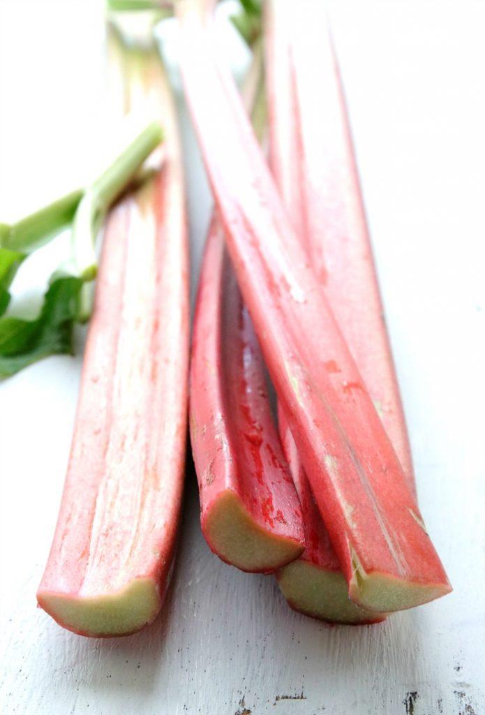 EmmaBee Rezept Erdbeer-Rhabarber-Wähe