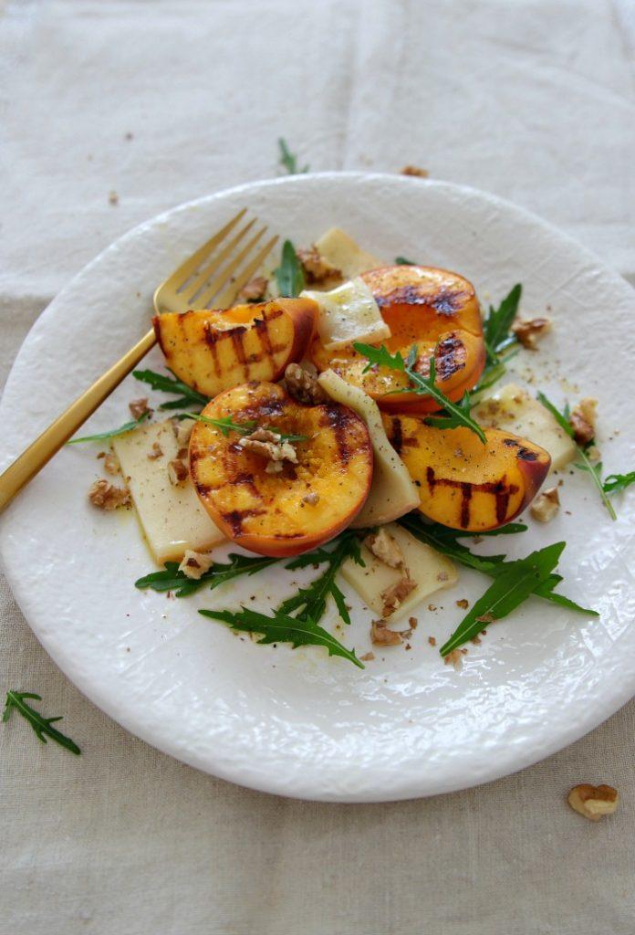 Rezept Pfirsich-Taleggio-Salat