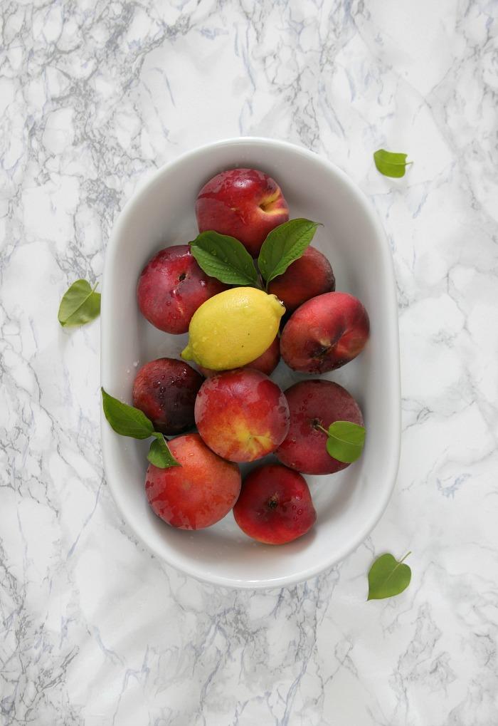 Pfirsicheistee selbermachen