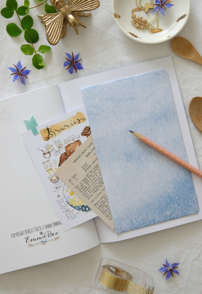 EmmaBee DIY Rezept-Tagebuch