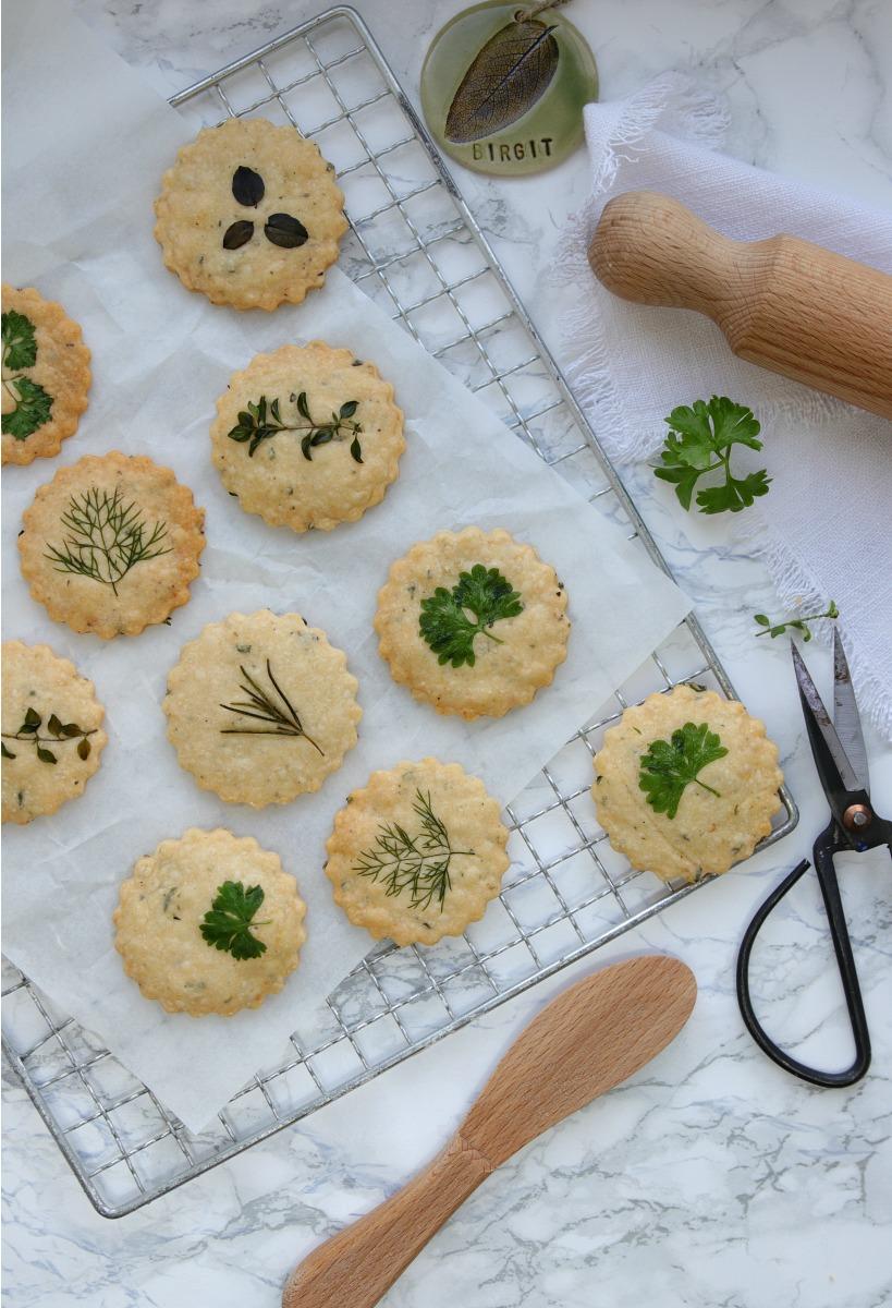 Parmesan-Shortbread-Cookies